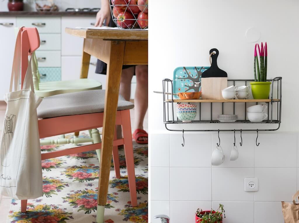 עיצוב דירה צבעונית וצעירה לשרון